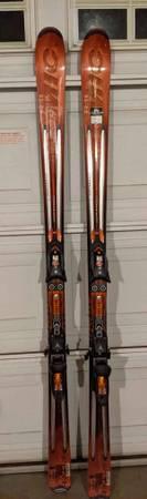 Photo Atomic R11 180 cm Downhill Skis  bindings - $125 (Chico)