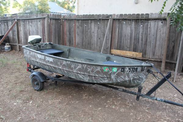 Photo Boat for Sale with Motor and Trailer - $2,000 (Chico, Ca)