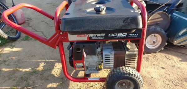 Photo Coleman powermate generator - $200 (Corning)