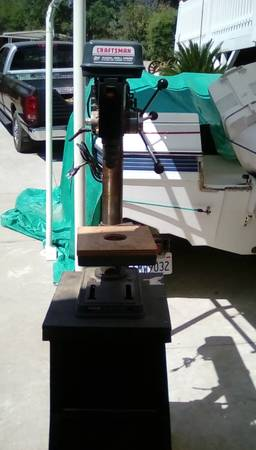 Photo Craftsman Radial arm drill press, . - $100 (Oroville)