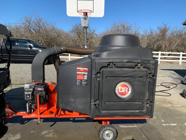 Photo DR Commercial Leaf and Lawn Vacuum - $1500 (Orland area)