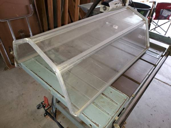 Photo Delta Rockwell Wood Lathe Plexiglass Guard Shield wHardware - $40 (Chico)