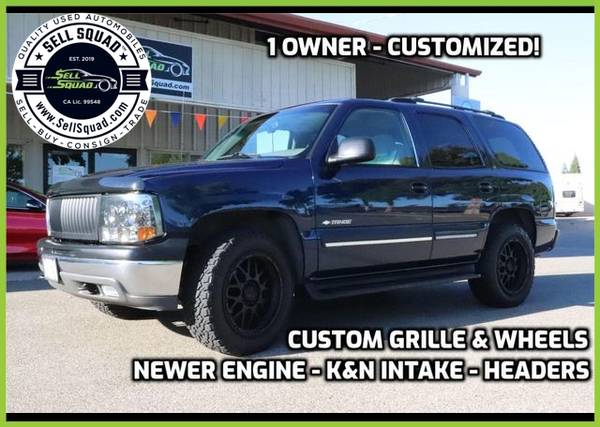 Photo Exceptionally Clean 2002 Chevrolet Tahoe Sport Utility 4D - $13995.00 (Exceptionally Clean 2002 Chevrolet Tahoe Spor)
