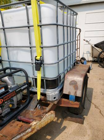 Photo Fire Hose-Water Tank-Homemade - $2,500 (Oroville, ca. 95966)