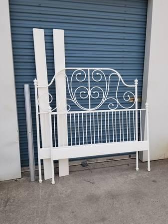 Photo Full size Ikea bed frame - $150 (Chico)