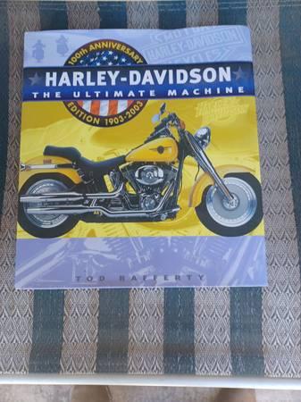 Photo Harley Davidson 100th Anniversary 1903-2003 Edition - $25 (Sacramento)