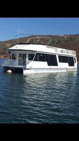 Photo Houseboat on Lake Mcclure - $165000 (Snelling California)