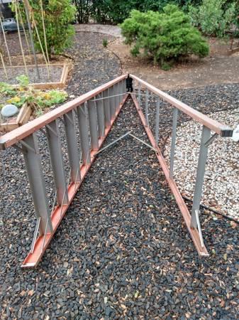 Photo Ladder, 12 ft. A-frame, Werner, 300 rating - $150 (Oroville, Kelly Ridge)