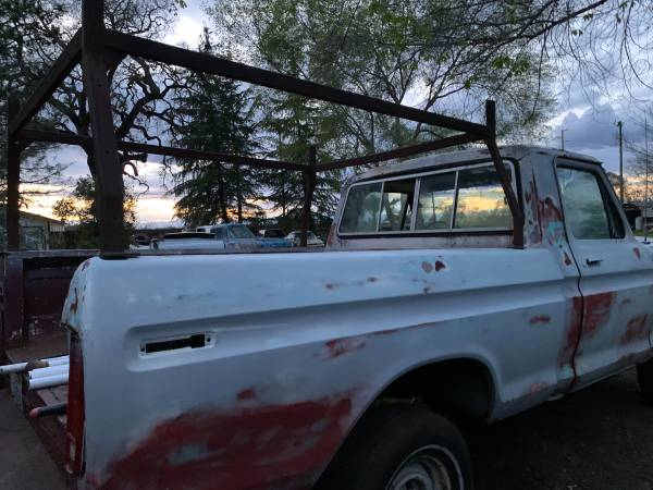 Photo Lumber rack fits 1973-1979 ford short bed truck - $100 (Orland)