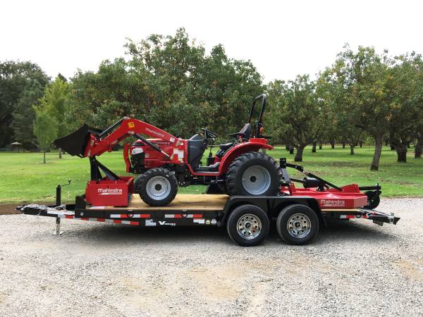 Photo Mahindra 1626 HST Package with Trailer - EXTRA $500 OFF Limited Stock - $26,600 (Red Bluff, CA)