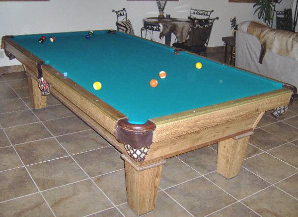 Photo Olhausen Pool Table ....... Tables - $500 (Oroville)
