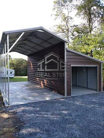 Photo PROTECT YOUR RV, CAR OR TRUCK WITH A CUSTOM CARPORT OR GARAGE (Ideal Stee Buildings Here in Chico)
