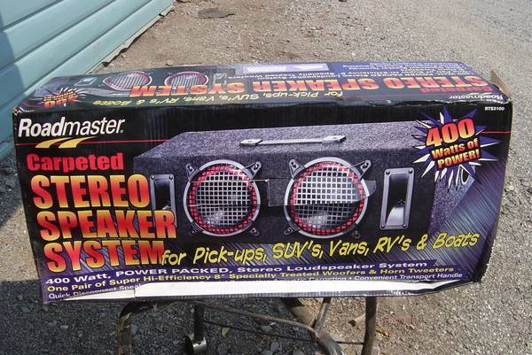 Photo ROAD MASTER SPEAKERS - $110 (CHICO)
