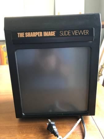Photo Sharper Image Magnifying Slide Viewer - $25 (El Dorado Hills)