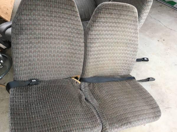 Photo Shuttle bus seats (Gridley)