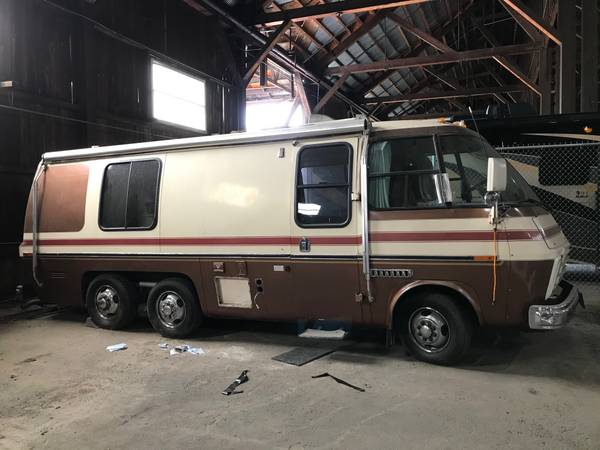 Photo Two 2339 GMC Motorhomes (1977 and 1978) (Chico, CA)