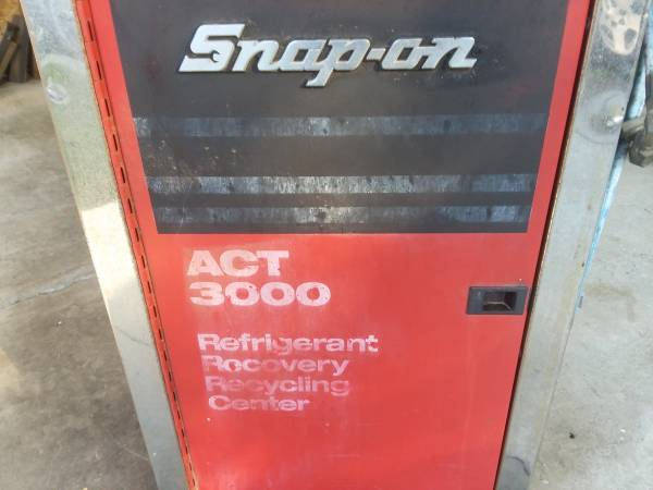 Photo Reduced Snap-on Automotive freon recycle unit - $200 (Corning)