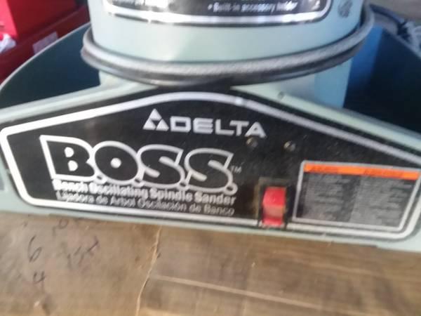Photo dewalt the boss spindle sander - $200 (oroville)