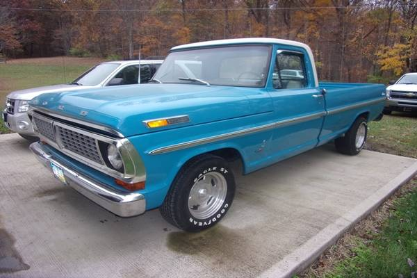 Photo 1970 FORD F-100 W428 COBRA JET V8 (Greenfield)