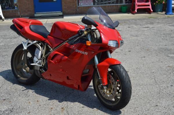 Photo 1998 Ducati 748S - $5,999 (hebron)