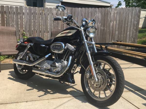 Photo 2004 Harley Davidson Sportster 1200 R  Trade for Goldwing (Cambridge)