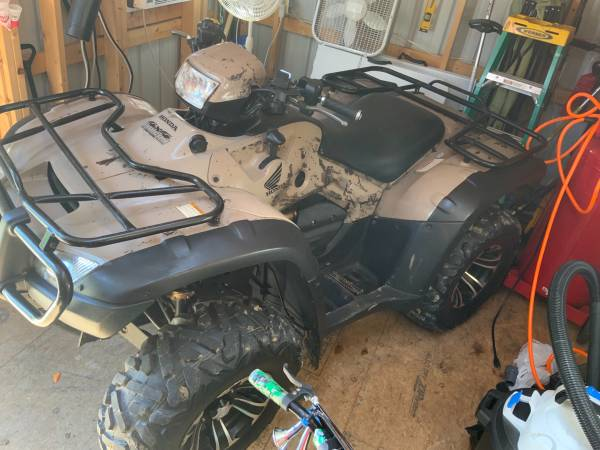 Photo 2011 Honda Foreman Rubicon With Power Steering - $5,200 (Waverly)