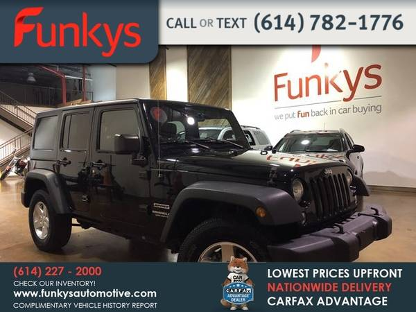 Photo 2014 Jeep Wrangler Unlimited Unlimited Sport S SUV 4D - $19282 (_Jeep_ _Wrangler Unlimited_ _SUV_)