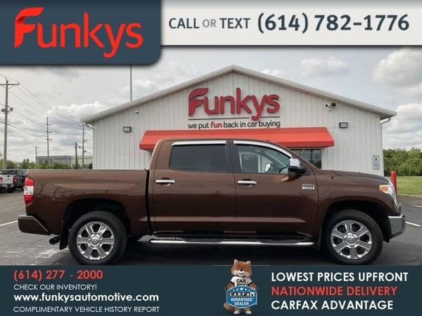 Photo 2016 Toyota Tundra Platinum Pickup 4D 5 12 ft - $35,950 (_Toyota_ _Tundra_ _Truck_)