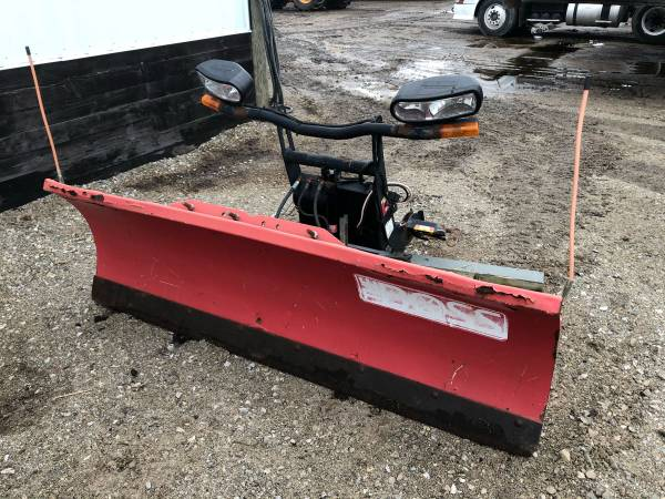 Photo Boss snow plow for sale - $400 (Circleville)