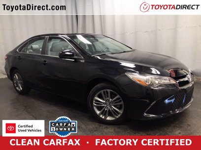 Photo Certified 2017 Toyota Camry SE for sale