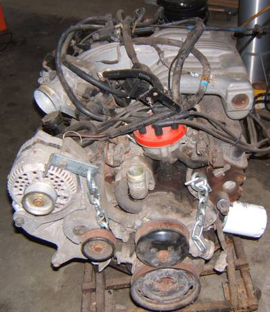 Photo Complete fuel injection from 5.0 1995 Mustang GT 302ci - $400 (Minford)