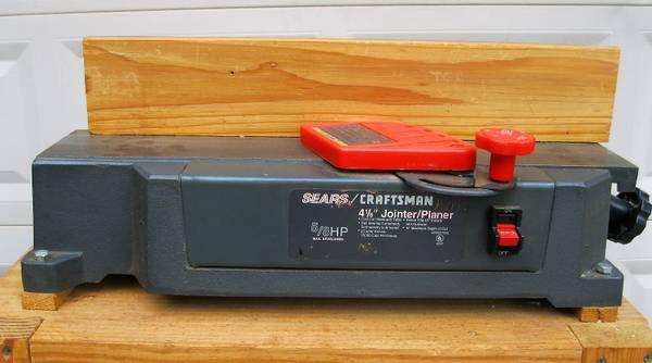 Photo Craftsman 4 18 inch Jointer-Planer - $125 (Bainbridge)