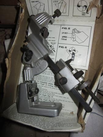 Photo Craftsman USA Drill-Bit Grinder Sharpener Attachment 6677 - $15 (Dayton)