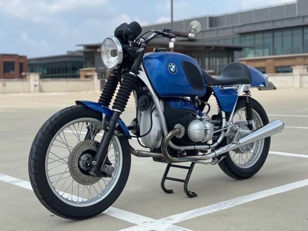 Photo Custom 1975 BMW R756 Cafe Racer - $8,500 (Columbus)