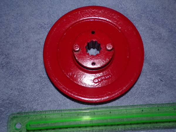 Photo Farmall Cub PTO Pulley w insert  2 screws - $50 (OTWAY, OHIO)