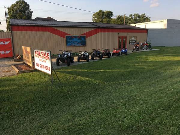 Photo For sale Motorcycle Atv shop with commercial property and large house - $199,000 (Piketon ohio)