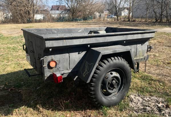 Photo Jeep M416 military trailer - $2000 (Chillicothe ohio)