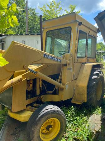 Photo John Deer 410 Backhoe - $10,000 (Jackson, ohio)