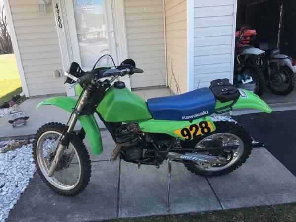Photo Kawasaki kdx 200 - $1,900 (Lockbourne)