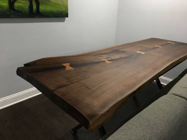 Photo Live-Edge Furniture for Home or Business - $100 (New albany)