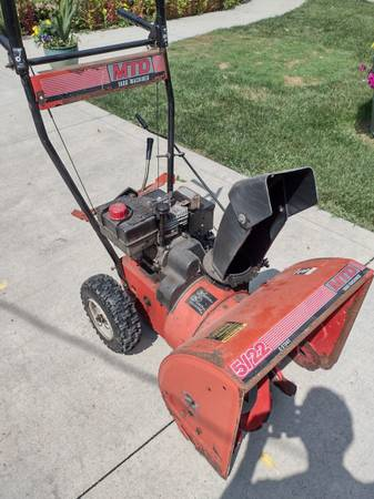Photo MTD two stage snow blower - $90 (Powell)