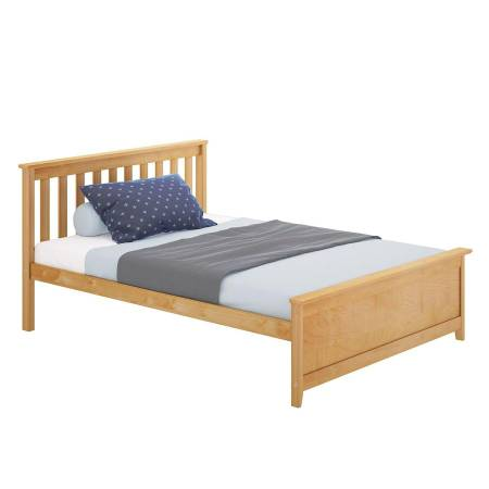 Photo Max and Lily Solid Wood Full Sized Bed Pine Color with 8 Mattress NIB - $300 (Chillicothe)