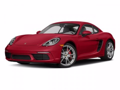 Photo Used 2017 Porsche 718 Cayman S for sale