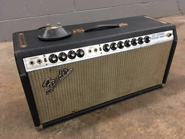 Fender Dual Showman For Sale