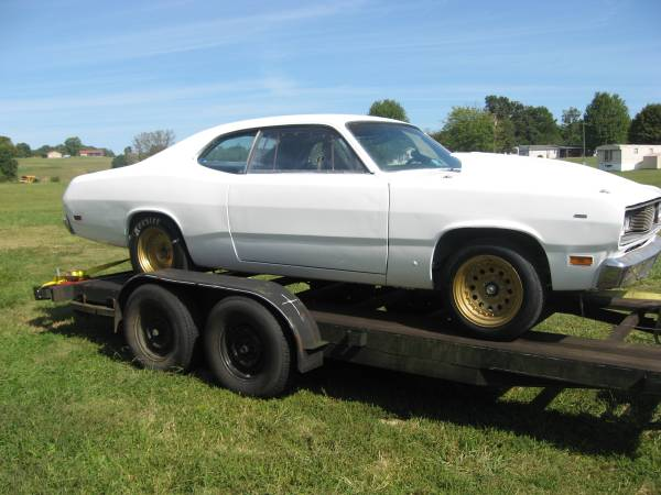 Photo 1971 plymouth duster drag car - $12,000 (morristown tn)