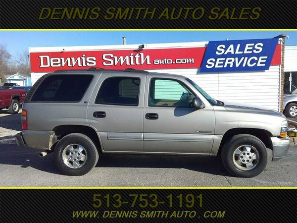 Photo 2000 CHEVY TAHOE LS 4X4 THIRD ROW, LEATHER, LOADED, 172K MILES, RUNS - $4000 (DENNIS SMITH EAST CINCI)