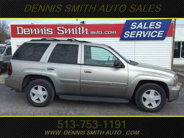 Photo 2002 CHEVY TRAILBLAZER 4X4, LOADED, LEATHER,RUNS, LOOKS AND DRIVES N - $3000 (DENNIS SMITH EAST CINCI)