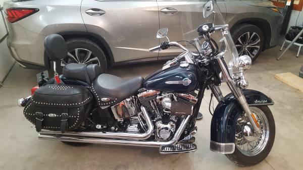 Photo 2002 Harley Heritage Softail - $7,000 (Mason)