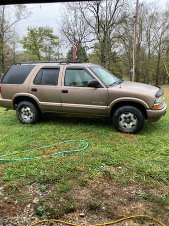 Photo 2004 Chevy Blazer - $4,500 (Rising Sun, Indiana)