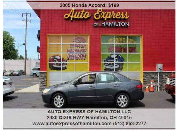 Photo 2005 Honda Accord $199 DownTAX BUY HERE PAY HERE - $199 (Auto Express of Hamilton)